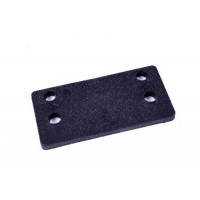 Transom Packing Piece - 4 hole, 5mm