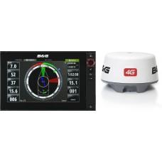 B&G - Zeus2 Multi Function Display and 4G Radar Bundle