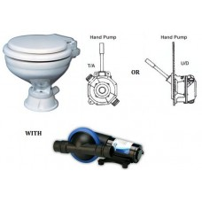 Popular Toilet with Waste Pump and Manual Hand Pump