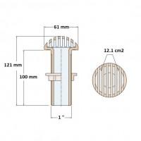 Guidi Round Water Inlet GU1210-1 inch