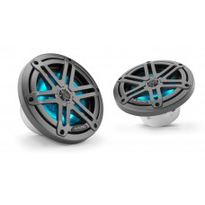 JL Audio - M3 6.5 inch Speakers - Gunmetal Sports Grill with LED Lighting
