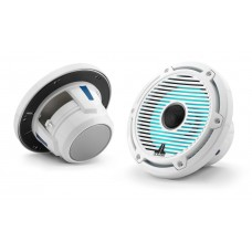 JL Audio - M6 6.5 inch Speakers - Classic Grill with LED Lighting