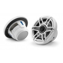 JL Audio - M6 6.5 inch Speakers - Gloss White Sport Grille
