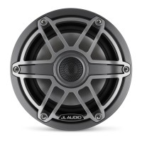 JL Audio - M6 6.5 inch Speakers - Titanium Sport Grill