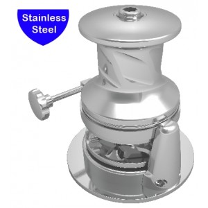 SX4 Vertical Windlass with Capstan