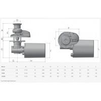 Lofrans X1 Vertical Windlass - with Capstan