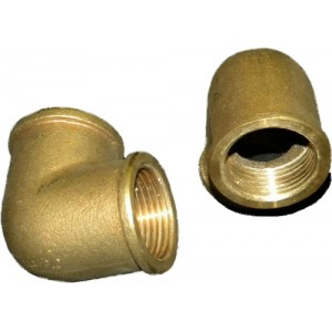 Bronze Female to Female 90 Degree Elbow