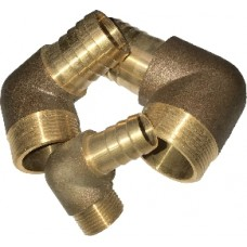 Bronze Hose 90 degree Elbow