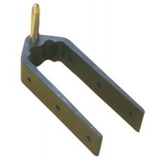 8mm Bottom 38mm Rudder Pintle 3-Hole Mounting