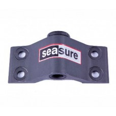 18.15B - 8mm Bottom Transom Gudgeon 4-Hole Mounting with Carbon Bush