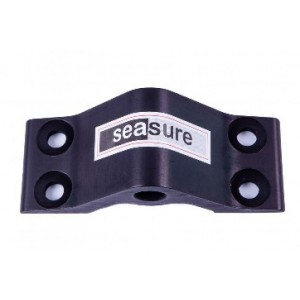 18.15 - 8mm Bottom Transom Gudgeon 4-Hole Mounting