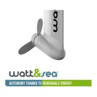 Watt & Sea - Hydro Generator - Universal Support