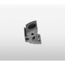 808 - Stanchion Base 25mm for Toe Rail