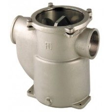 Guidi Raw Water Strainer - Nickel Plated Bronze - Side In and Side Out