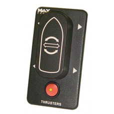Max Power Electric Thruster Dual Boat Control Panel