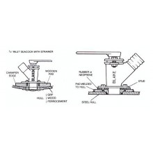 Seacock - Inlet or Outlet options