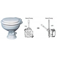 Popular Toilet with Manual Hand Pump